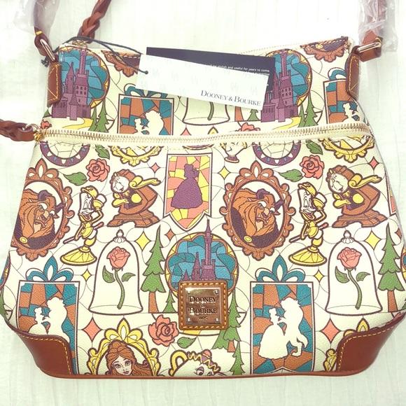 Dooney Bourke Bags Disney Dooney Beauty The Beast Lim Ed Crossbody Poshmark
